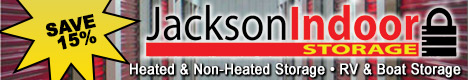 Jackson Indoor Storage -Secure and temperature controlled indoor storage
